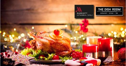 Marriott Hotel Şişli'de canlı müzik, DJ performansı ve limitsiz içecek eşliğinde yılbaşı programı 199 TL! 31 Aralık 2017 yılbaşı gecesine özeldir.
