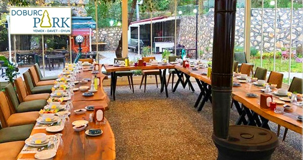 Osmangazi Doburca Park Restaurant'ta ızgara köfte veya sucuk menüsü 80 TL! Fırsatın geçerlilik tarihi için DETAYLAR bölümünü inceleyiniz.