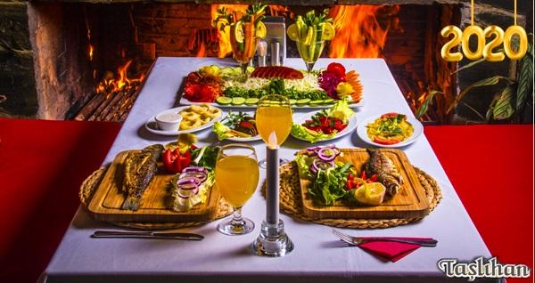 Anadolu Feneri Taşlıhan Restaurant'ta yılbaşı menüsü