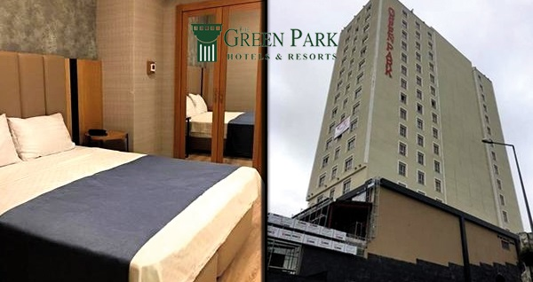 The Green Park Hotel Gaziantep'te kahvaltı dahil çift kişilik 1 gece konaklama 299 TL! Fırsatın geçerlilik tarihi için DETAYLAR bölümünü inceleyiniz.
