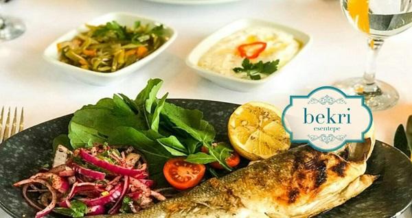 Bekri Esentepe'de 2 adet yerli içecek eşliğinde enfes fix menü