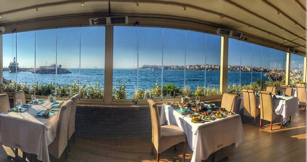 Kalamış Paysage Balık'ta hafta içi her gün geçerli leziz balık menüsü kişi başı 119 TL! Fırsatın geçerlilik tarihi için DETAYLAR bölümünü inceleyiniz.