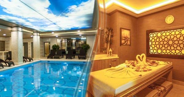 Sirkeci Miss İstanbul Hotel SPA'da kadınlar için geçerli 40 dakika masaj ve ıslak alan kullanımı 200 TL yerine 99 TL! Fırsatın geçerlilik tarihi için, DETAYLAR bölümünü inceleyiniz.