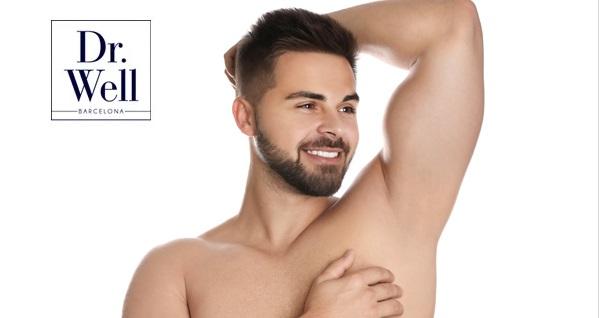 Dr. Well Estetik'te erkeklere özel 8 seans koltuk altı veya sakal üstü istenmeyen tüylerden kurtulma uygulaması 490 TL yerine 99 TL! Fırsatın geçerlilik tarihi için DETAYLAR bölümünü inceleyiniz.