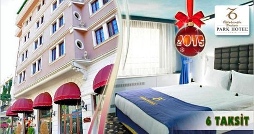 Oğlakcıoğlu Park Boutique Hotel'de kahvaltı dahil çift kişilik 1 gece konaklama ve YILBAŞI YEMEĞİ 300 TL yerine 219 TL! Yılbaşına özel; 31 Aralık 2014 tarihinde gerçekleşecek konaklamada geçerlidir. Fırsata, çift kişilik 1 gece konaklama, kahvaltı ve yılbaşı yemeği dahildir.