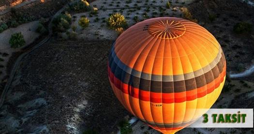 Kapadokya'nın eşsiz güzelliklerini havadan görme imkanı bulacağınız 1 saatlik 'Kapadokya Balon Turu' 300 TL yerine 199 TL! 30 Aralık 2016 kadar haftanın her günü geçerlidir.