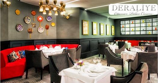 Sultanahmet Deraliye Restaurant'ta Kanuni Sultan Süleyman ve Hürrem Sultan menüsü 120 TL yerine 59,90 TL! Fırsatın geçerlilik tarihi için DETAYLAR bölümünü inceleyiniz.