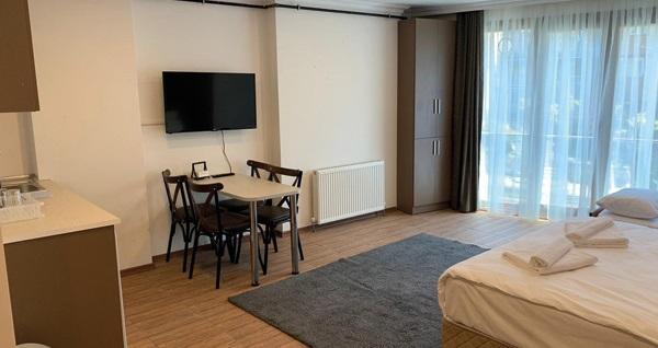 Şişli Modern Suites'te çift kişilik 1 gece konaklama 169 TL! Fırsatın geçerlilik tarihi için, DETAYLAR bölümünü inceleyiniz.