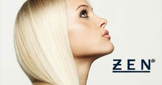 Zen Kuaför Güzellik Salonu'nda göz alıcı, bakımlı saçlar için saç boyası, fön ve saç bakım uygulaması 80 TL yerine 24,90 TL! 4 Nisan 2014 tarihine kadar geçerlidir.