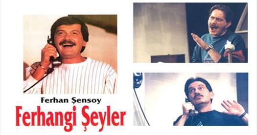 """Hiç eskimeyen oyun! Ferhan Şensoy tarafından Ankara Sanat Tiyatrosu'nda sahnelenecek """"Ferhangi Şeyler"""" oyununa giriş biletleri 34 TL yerine 21 TL! 18 Eylül 2013 Çarşamba günü, saat: 20:00'de Ankara Sanat Tiyatrosu'nda gerçekleşecek """"Ferhangi Şeyler"""" oyunu için geçerlidir."""