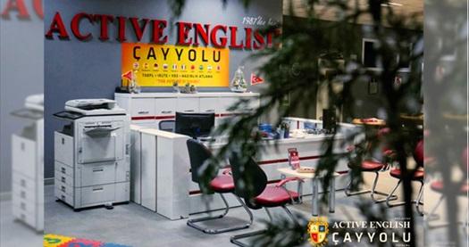 Active English Çayyolu şubesinde geçerli yabancı eğitmenler ile 24 saatlik ''İngilizce ve İspanyolca'' konuşma kulübü 350 TL yerine 29,90 TL! Fırsatın geçerlilik tarihi için DETAYLAR bölümünü inceleyiniz.