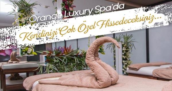 Ankara'nın Merkezi Çankaya'da Orange Luxury Spa'da masaj, ıslak alan kullanımı ve cilt maskesi uygulamaları 159 TL'den başlayan fiyatlarla! Fırsatın geçerlilik tarihi için DETAYLAR bölümünü inceleyiniz.
