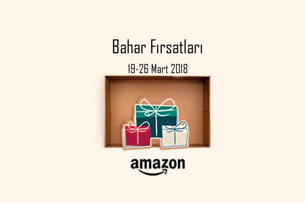 Amazon.de Türkiye'den yakalayabileceğiniz Bahar Fırsatları! Fırsatın geçerlilik tarihi için DETAYLAR bölümünü inceleyiniz.