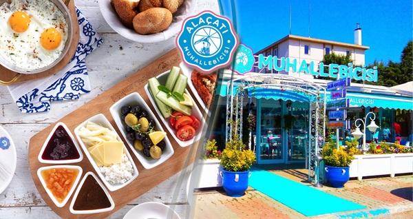 Alaçatı Muhallebicisi Tuzla sahil şubesinde geçerli sınırsız çay eşliğinde serpme kahvaltı keyfi 29,90 TL! Fırsatın geçerlilik tarihi için, DETAYLAR bölümünü inceleyiniz.