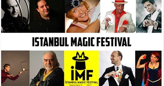 Dünyanın en iyi sihirbazlarıyla 9 Eylül tarihinde gerçekleşecek İstanbul Magic Festival'e biletler 56 TL yerine 32 TL! 9 Eylül 2017 | 20:30 | Trump Kültür ve Gösteri Merkezi