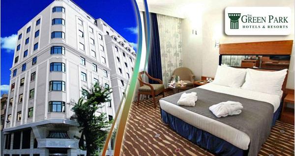The Green Park Hotel Taksim'de kahvaltı dahil çift kişilik 1 gece konaklama ve spa keyfi 299 TL yerine 249 TL! Fırsatın geçerlilik tarihi için DETAYLAR bölümünü inceleyiniz.