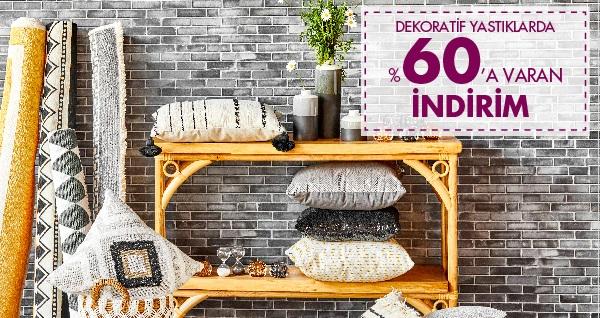 Sizin eviniz, bizim evimiz! Bella Maison'da ev dekorasyonuna özel indirimli ürünler! Fırsatın geçerlilik tarihi için DETAYLAR bölümünü inceleyiniz.