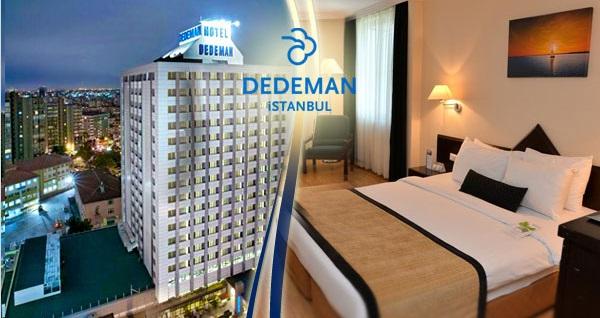 Esentepe Dedeman İstanbul Hotel'de En Uygun Fiyatlı Konaklama Seçenekleri Grupanya'da! Fırsatın geçerlilik tarihi için DETAYLAR bölümünü inceleyiniz.