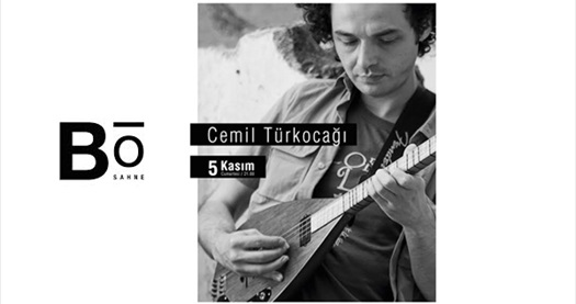 5 Kasım'da Bo Sahne'de gerçekleşecek Cemil Türkocağı konserine biletler 24 TL! 5 Kasım 2016 | 21.00 | Bo Sahne