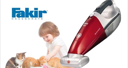 جارو شارژی فاکر مدل FAKIR Vacuum Cleaner RCT 122 TURBO