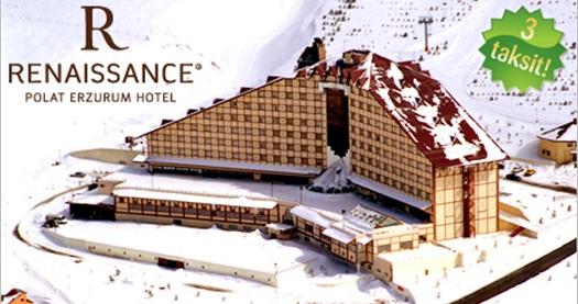 Hms Tatilden Renaissance Polat Erzurum Hotelde 1 Gece çift Kişilik