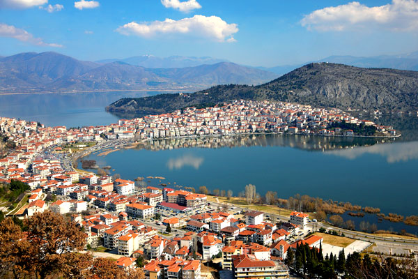 Lady of the lake, a photo from Kastoria, Macedonia TrekEarth