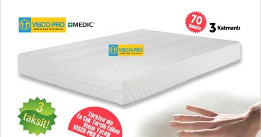 Sağlıklı ve rahat bir uyku için 100 organik 3 katmalı tam
