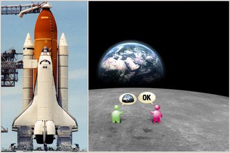 Ayaklarınızı yerden kesecek bir deneyim! Ay yüzeyinde 10 dk.'lık yürüyüş ve 3 gün 3 saat 54 dakikalık yolculuk ile unutulmaz atmosfersiz, düşük yer çekimli ortamda eğlence imkanı 150 milyar Dolar yerine yalnızca 30 Milyar Dolar! (3 ay geçerlidir.)