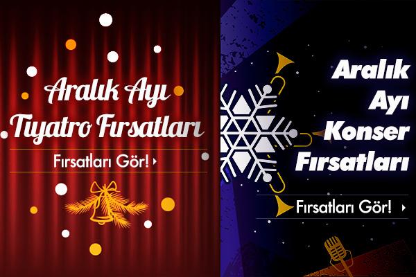 İstanbul Aralık Ayı Etkinlikleri!