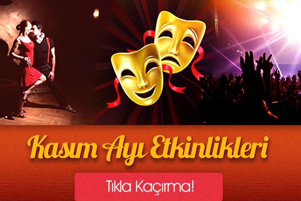 İstanbul Kasım Ayı Etkinlikleri!