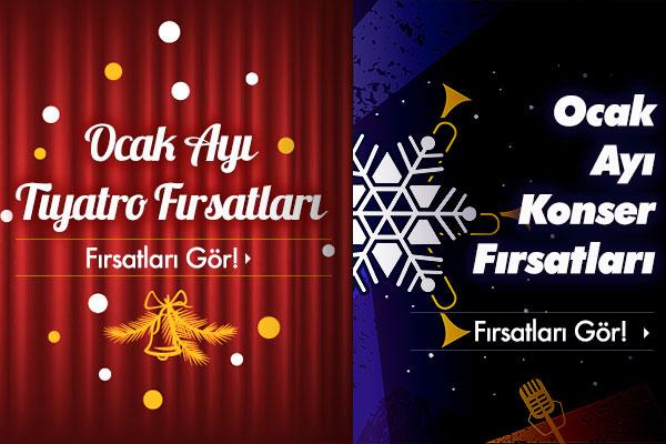 İstanbul Ocak Ayı Etkinlikleri!
