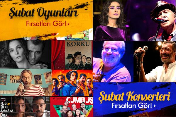 İstanbul Şubat Ayı Etkinlikleri!