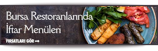 Bursa restoranları iftar fırsatları